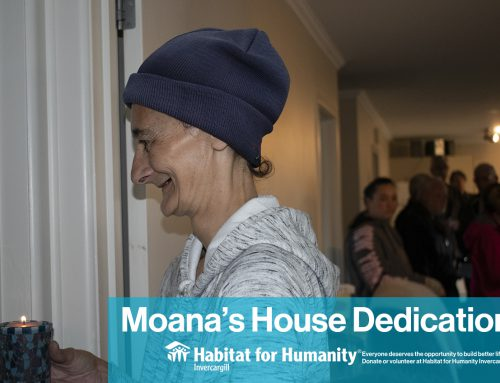 House dedication service for Moana's family